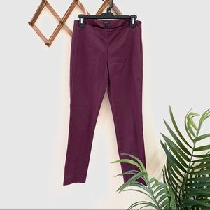 Theory Maroon Career Pants
